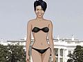 Игра Одевалка Мишель Обама