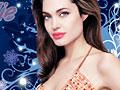 Игра Макияж для Анджелины Джоли