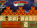 Игра Пасьянс три пики Хэллоуин