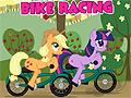 Игра Май Литл Пони на велосипедах