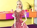 Игра Одевалка Барби на день рождения