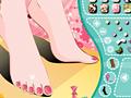 Игра Красить ногти на ногах