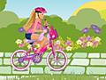 Игра Барби на велосипеде