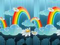 Игра Найди отличия радуга
