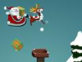 Игра Санта Клаус развозит подарки
