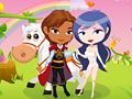 Игра Одевалка принцесса с принцем