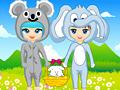 Игра Одевалка костюмы животных