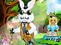Игра Одевалка белого кролика