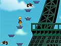 Игра Наруто лезет на башню