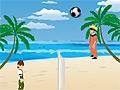 Игра Волейбол: Наруто и Бен 10
