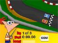 Игра Финис и Ферб: гонки на машинках