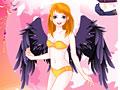 Игра Одень девушку-ангела