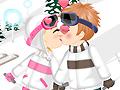 Игра Поцелуи зимой