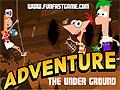 Игра Финис и Ферб в подземелье