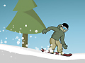 Игра Спуск на сноуборде 3