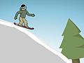 Игра Спуск на сноуборде