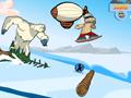 Игра На сноуборде от Йети