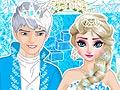 Игра Одевалка свадьба Эльзы и Джека