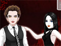 Игра Одевалка: вампиры Кристина и Эдвард