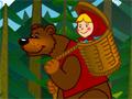 Игра Маша и медведь: едем к бабушке