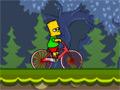Игра Симпсоны: велосипед Барта