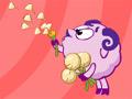 Игра Смешарики: букет для Нюши