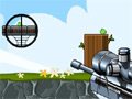 Игра Angry birds: Пристрели поросенка