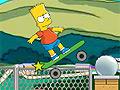Игра Барт Симпсон на скейте 2
