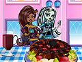 Игра Монстр Хай: шоколадный торт