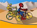 Игра Человек паук: гонка на BMX