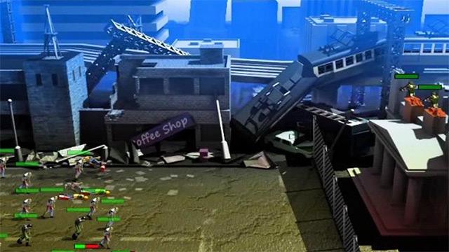 Игра Поле битвы с зомби