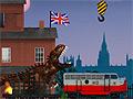 Игра Тираннозавр Рекс в Лондоне