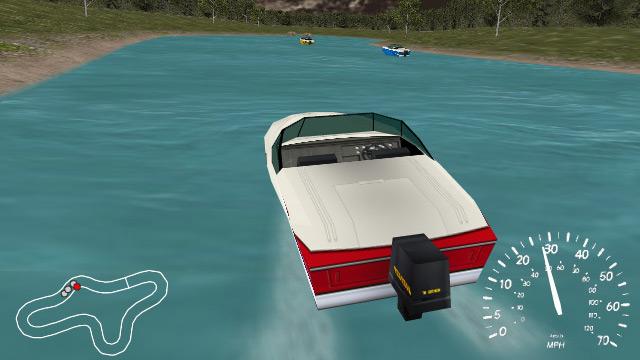 Игра Гонки на катерах