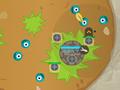 Игра Защита базы от пушистиков